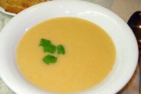 Пюреобразный овощной суп