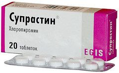 Антигистаминный препарат Супрастин