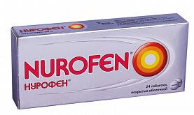 Таблетированная форма выпуска Нурофена
